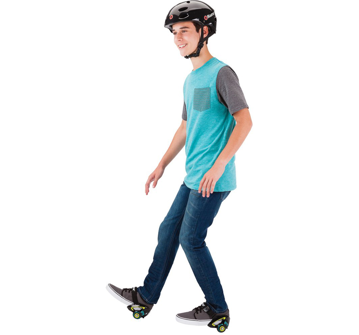Razor | Razor Jetts Heel Wheels - Green Skates and Skateboards for Kids age 8Y+ (Green)