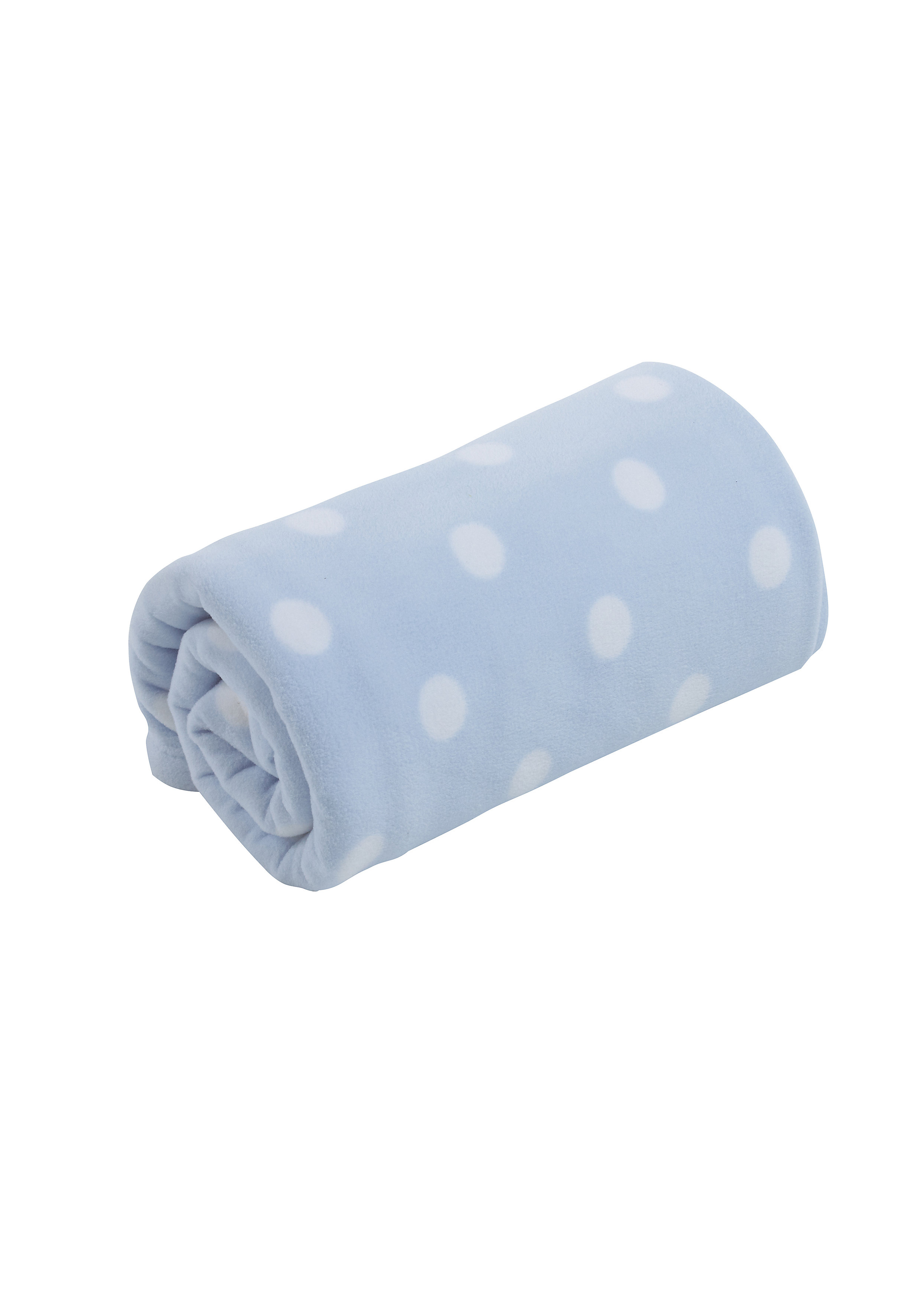 Mothercare | Mothercare Fleece Moses Baby Blanket Blue