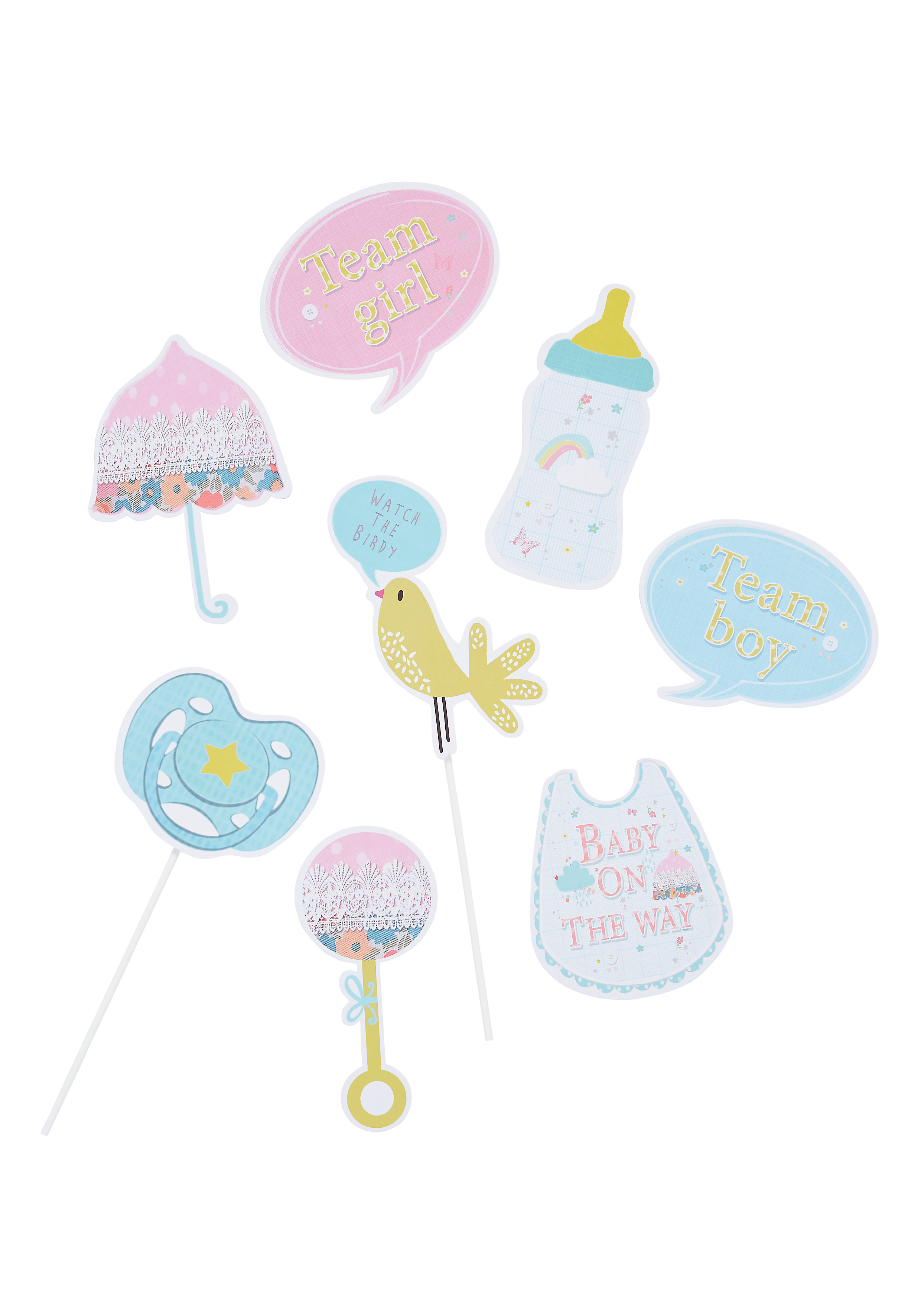 Mothercare | Mothercare Baby Shower Photo Props Multi