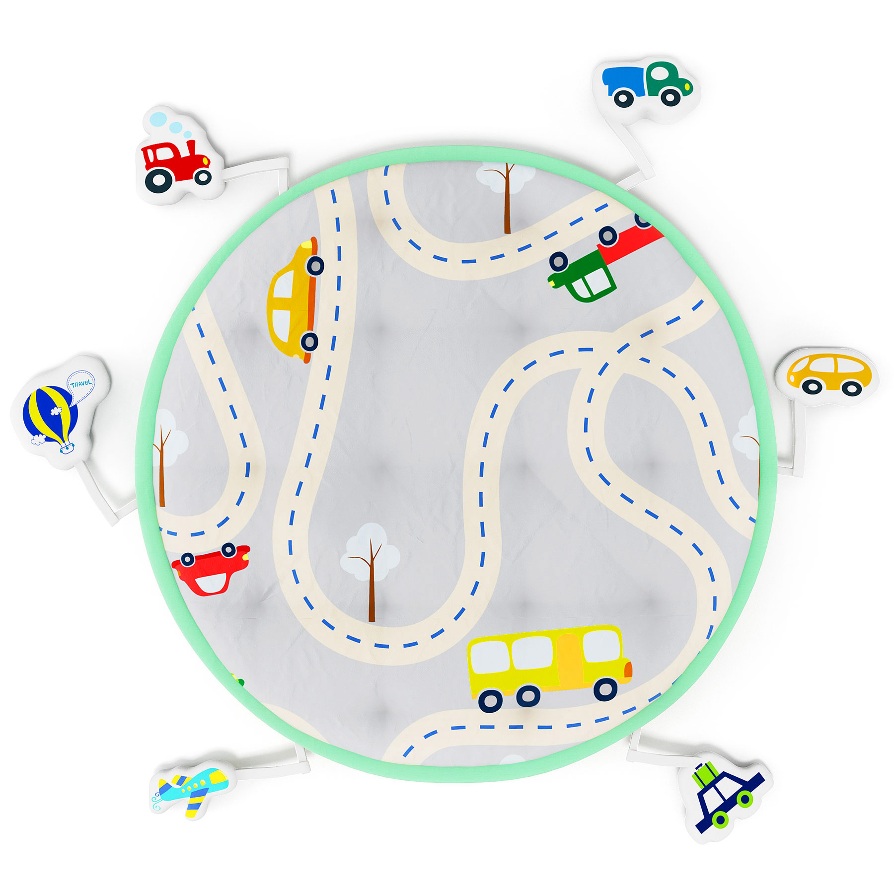 Mothercare | Fancy Fluff Baby Play Mat - Travel
