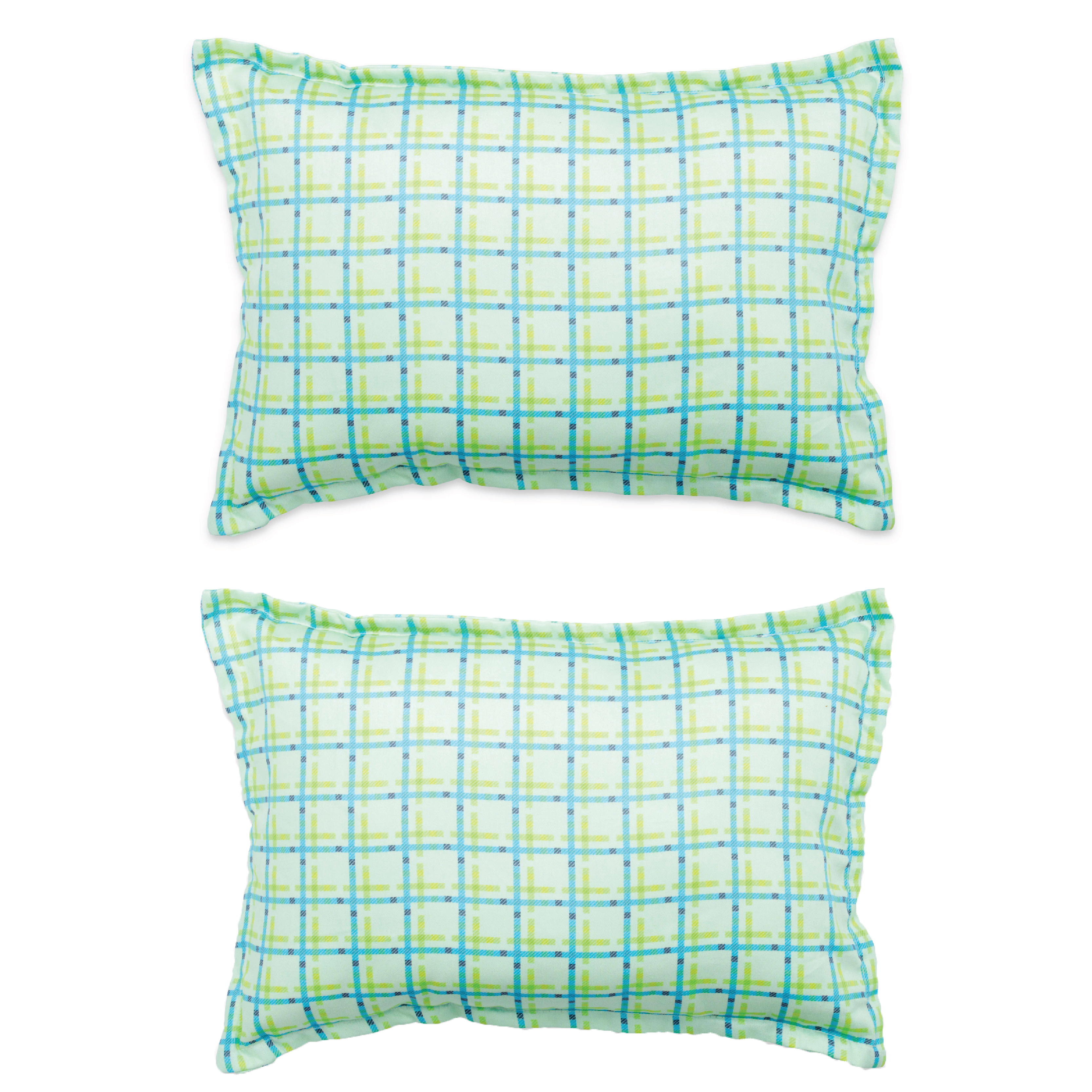 Mothercare | Fancy Fluff Set Of 2 Pillow Covers - Travel