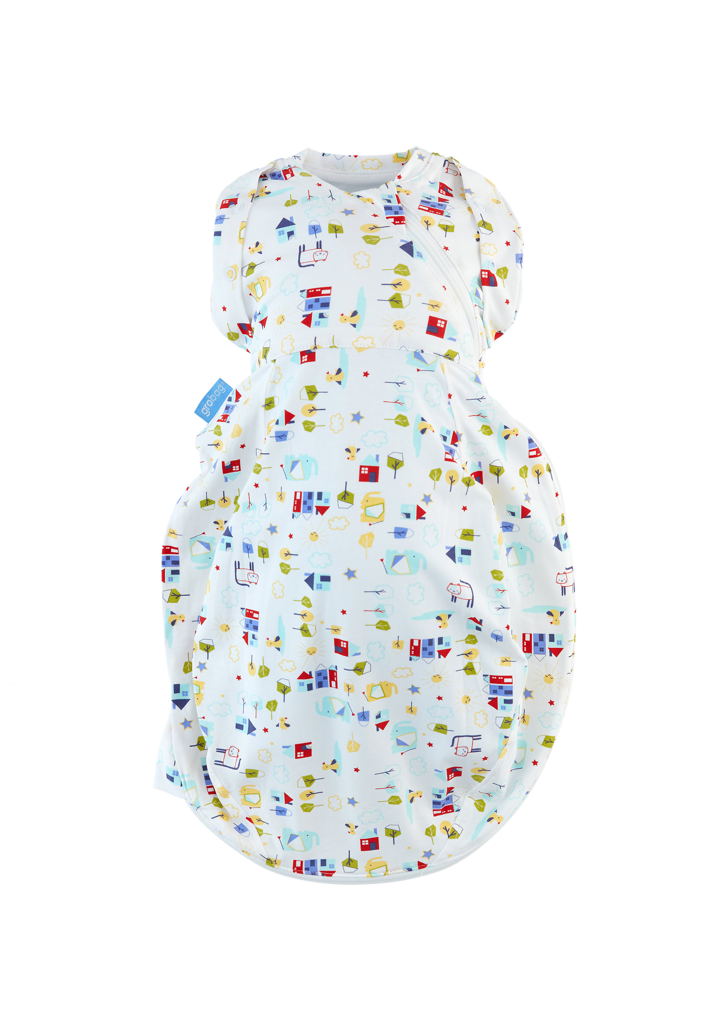 Mothercare | Mothercare The Gro Company Good Morning Grosnug 2-In-1 Swaddle And Newborn Grobag White