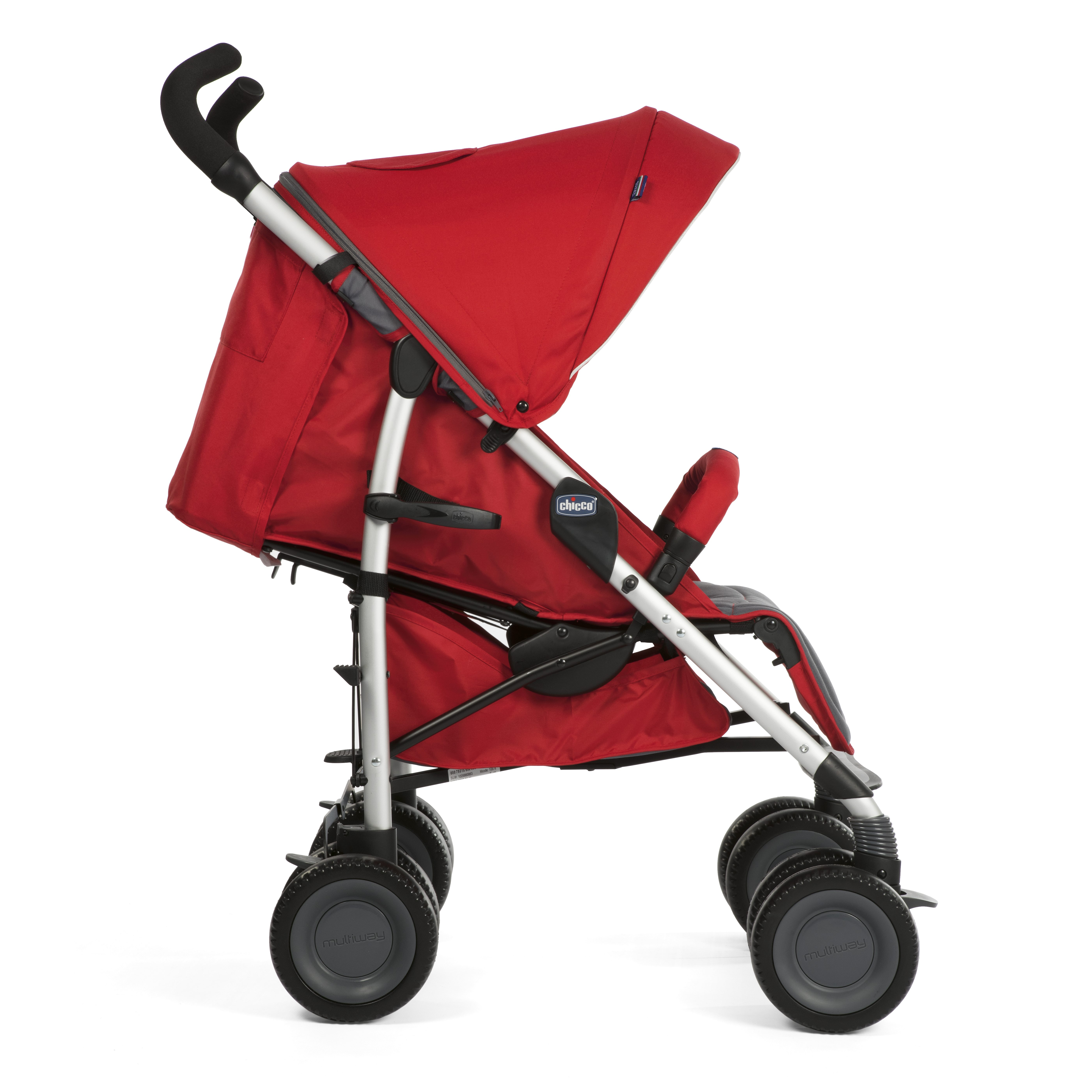 Mothercare   Chicco Multiway  Travel System Red