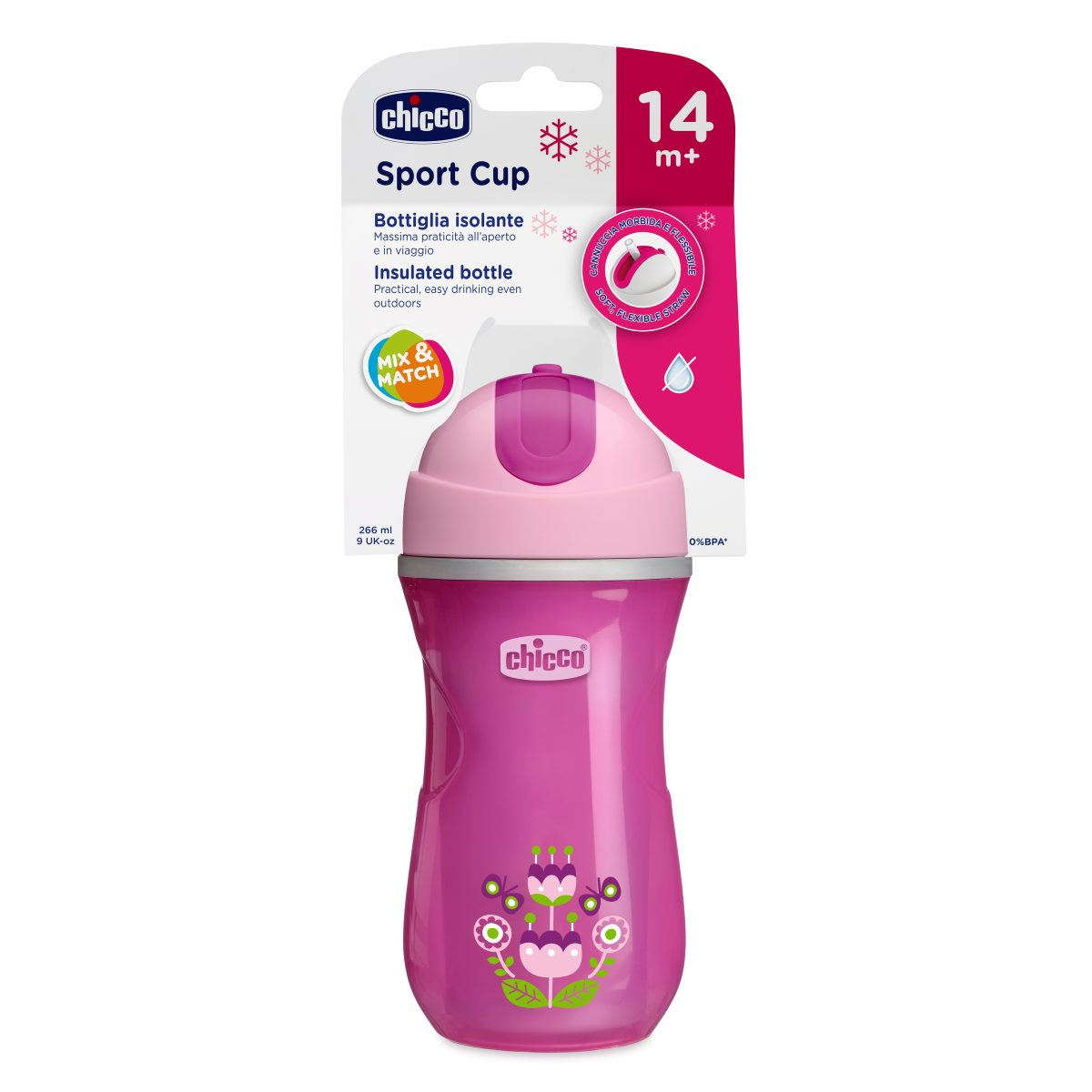 Mothercare   Chicco Sport Cup 14M and Girl