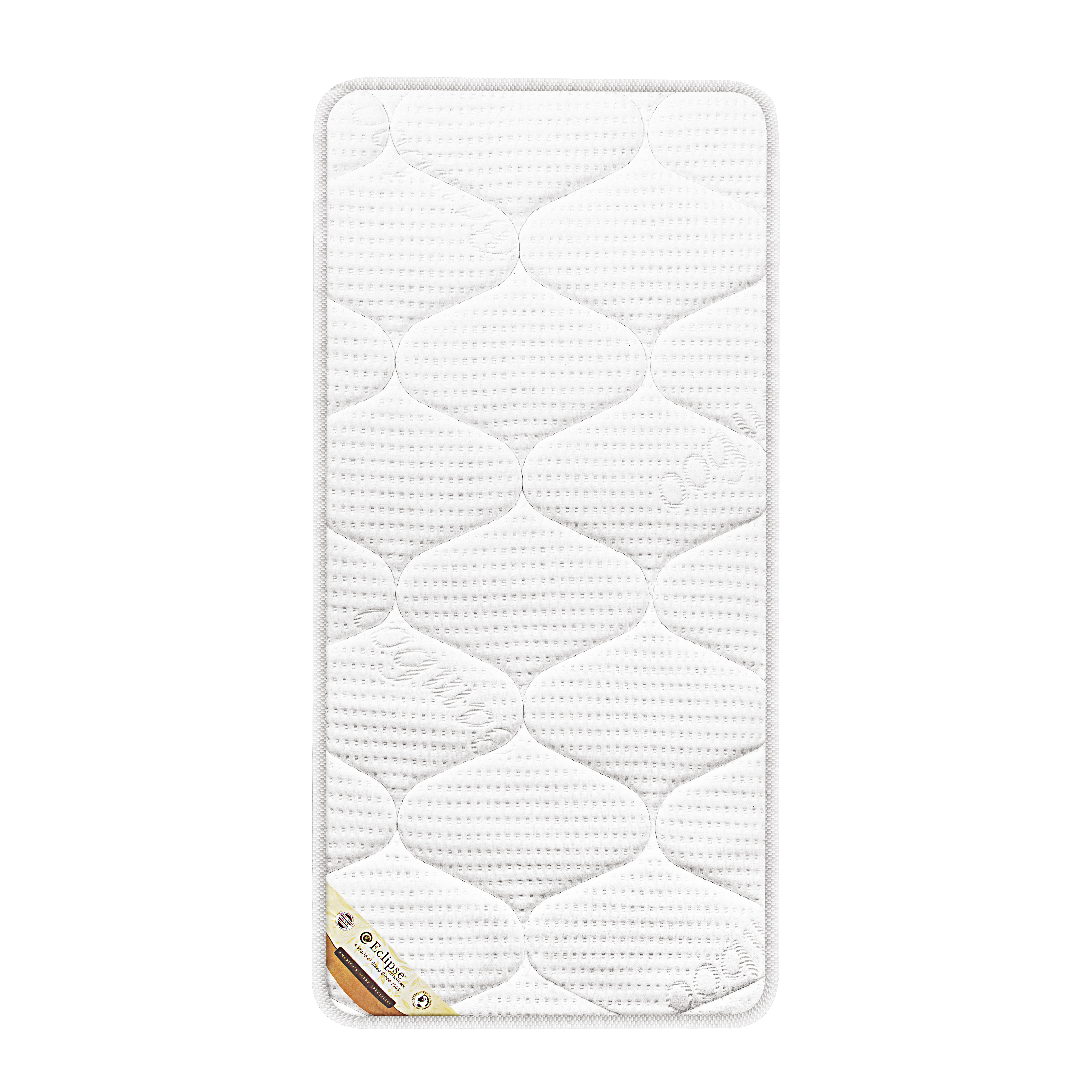 Mothercare | Eclipse Cot Bed Spring Mattress White