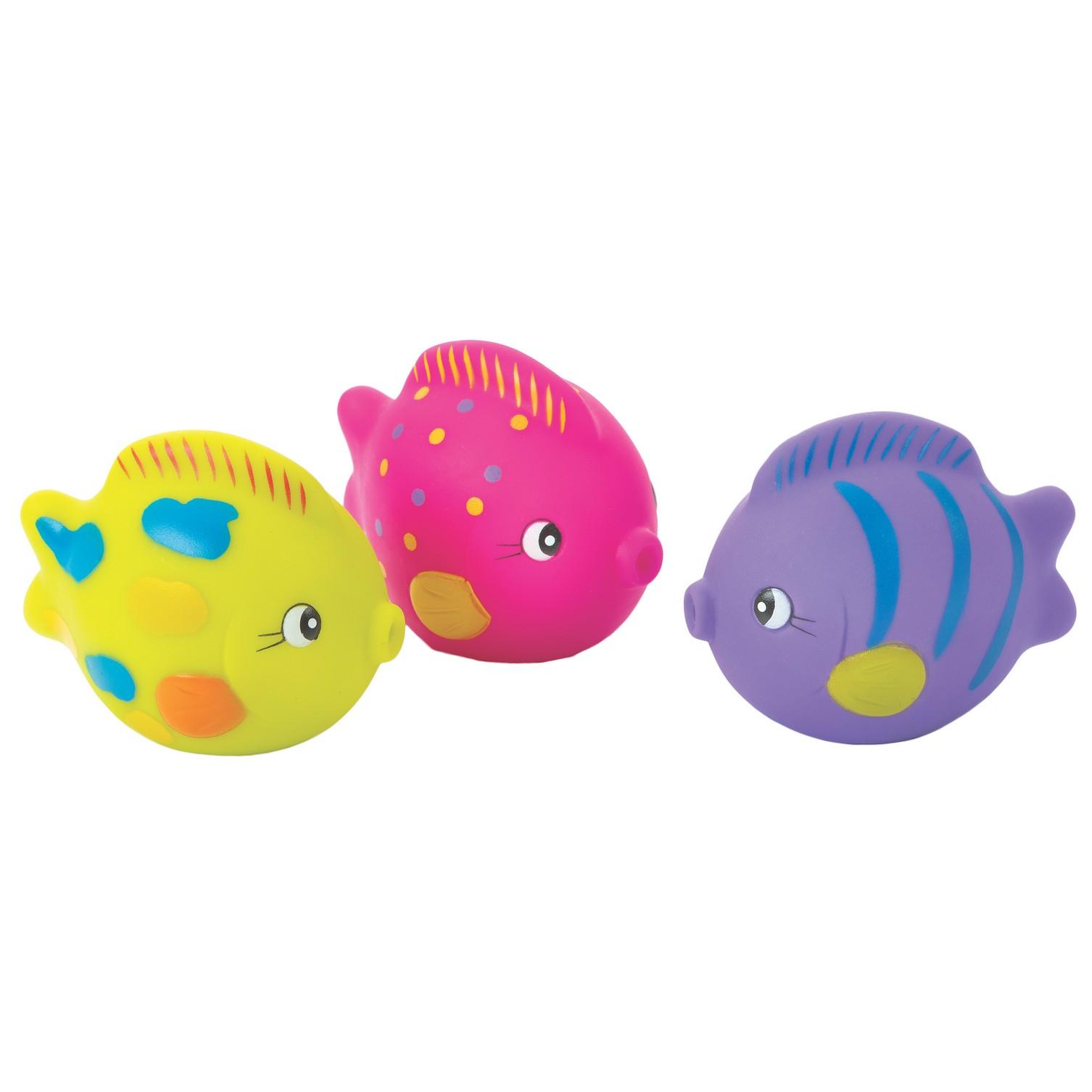 Playgro   Playgro Ocean Friends Squirtees  Multicolor