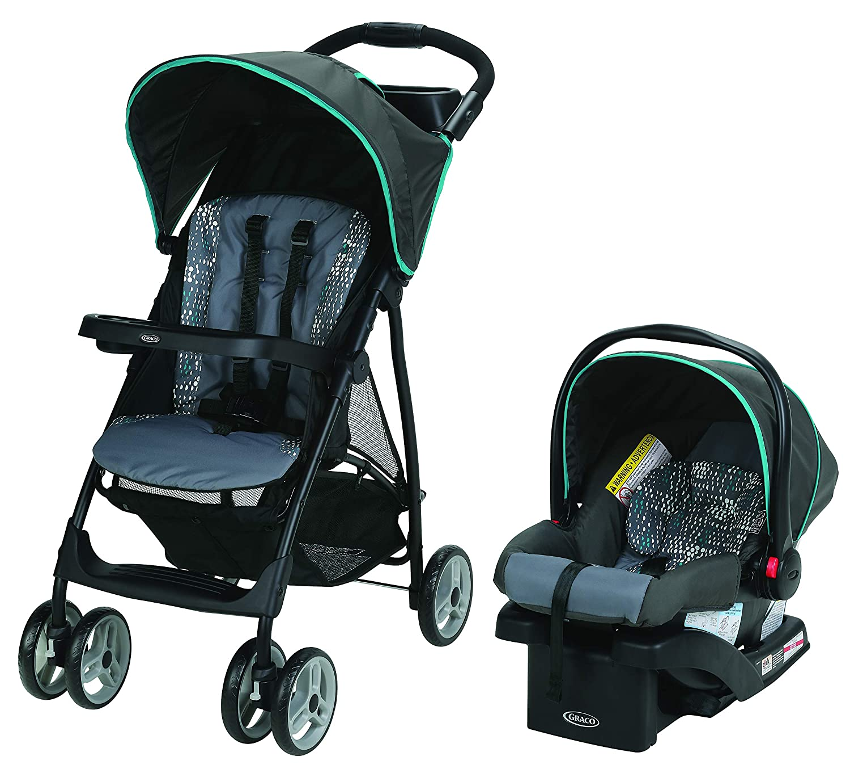 Mothercare   Graco Travel System Black S SRECK30 Literider LX RILLE Black