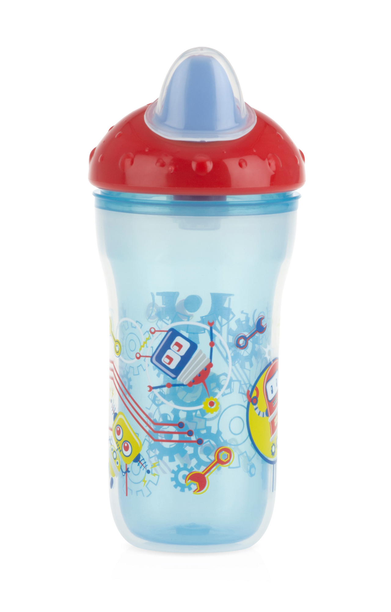 Mothercare | Nuby Insulated Soft Sipper Spout 270ml Blue