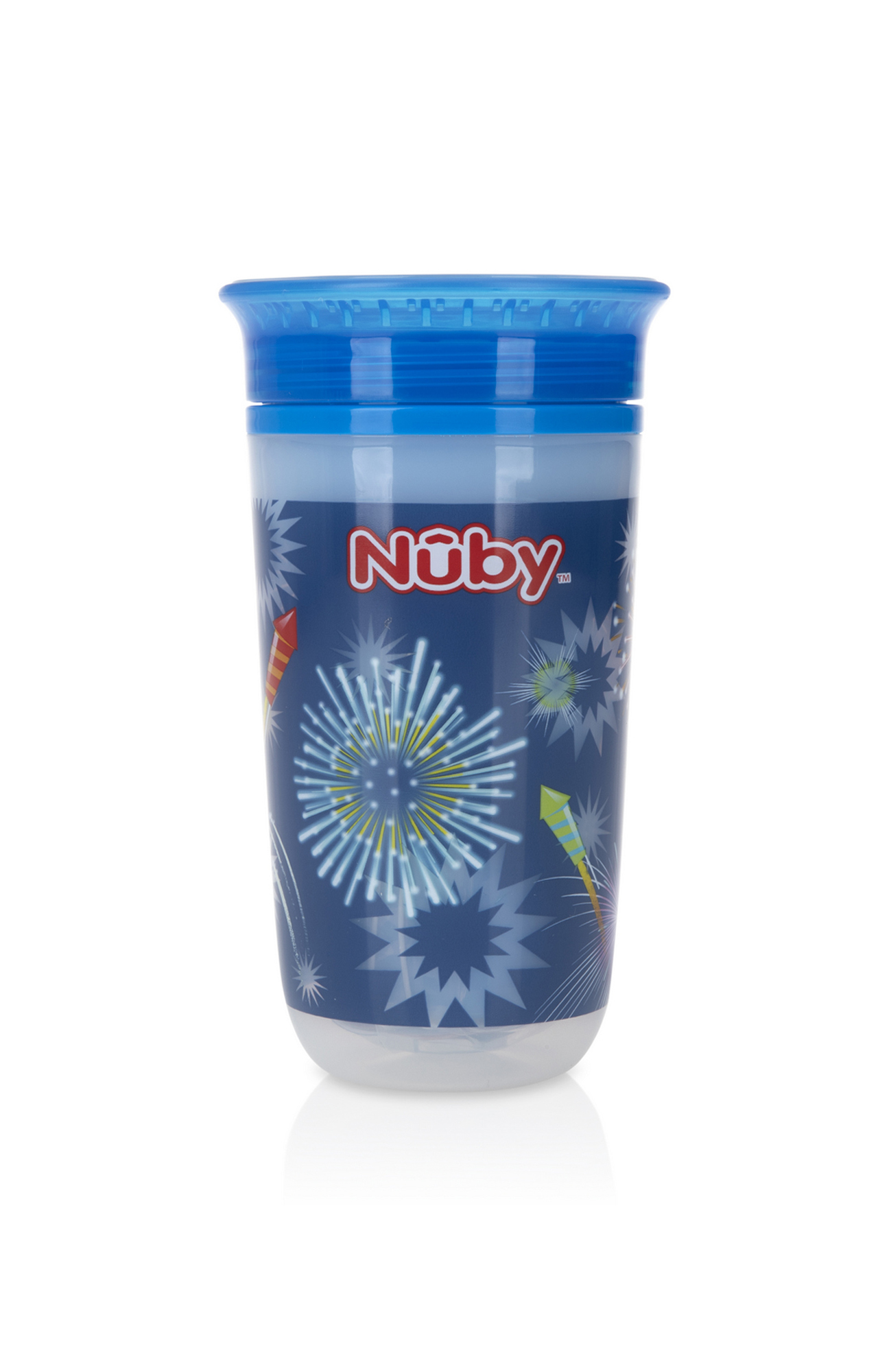 Mothercare | Nuby Light Up 360° Wonder Cup 300mlAqua