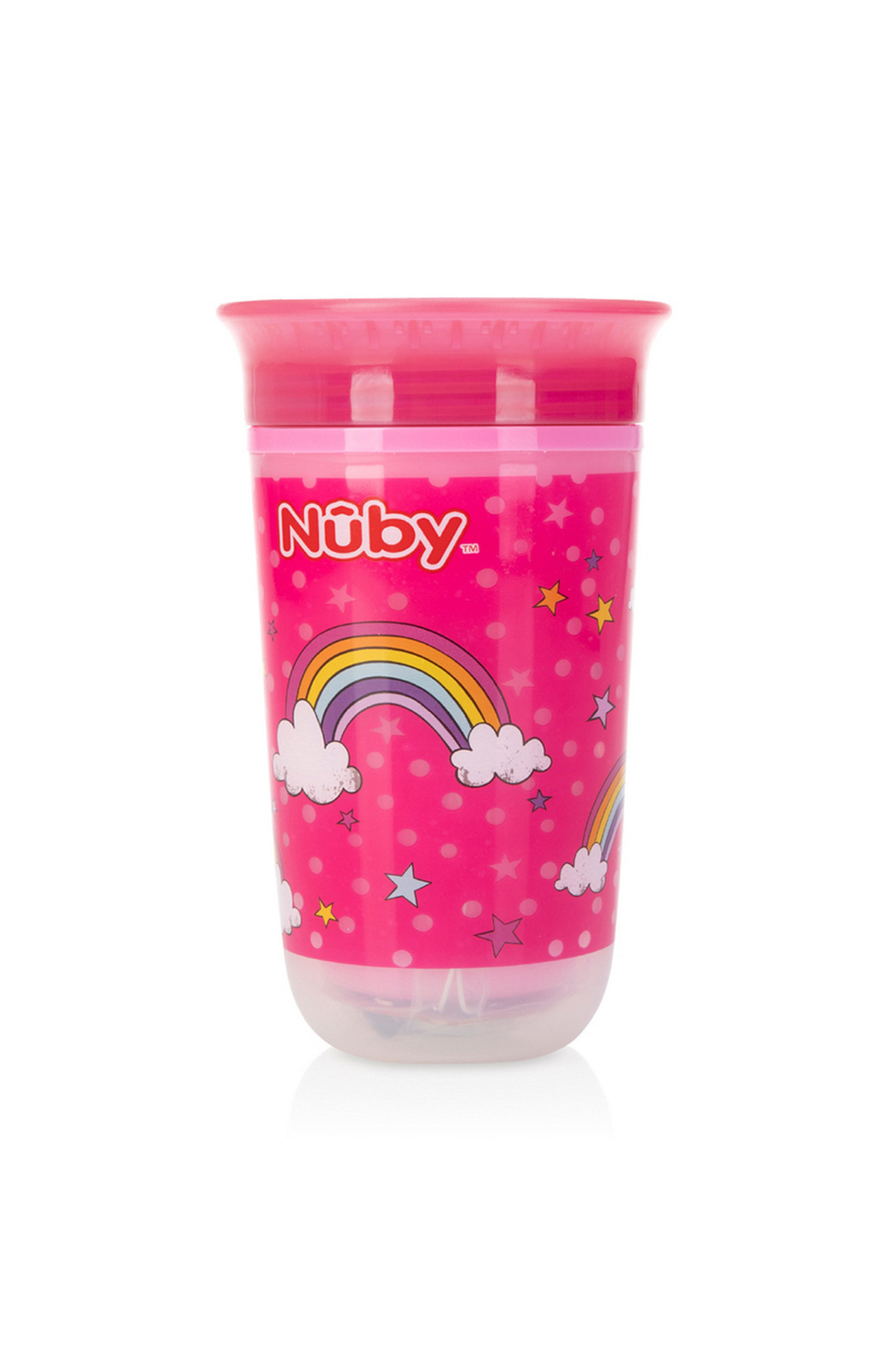 Mothercare   Nuby Light Up 360° Wonder Cup 300ml Pink