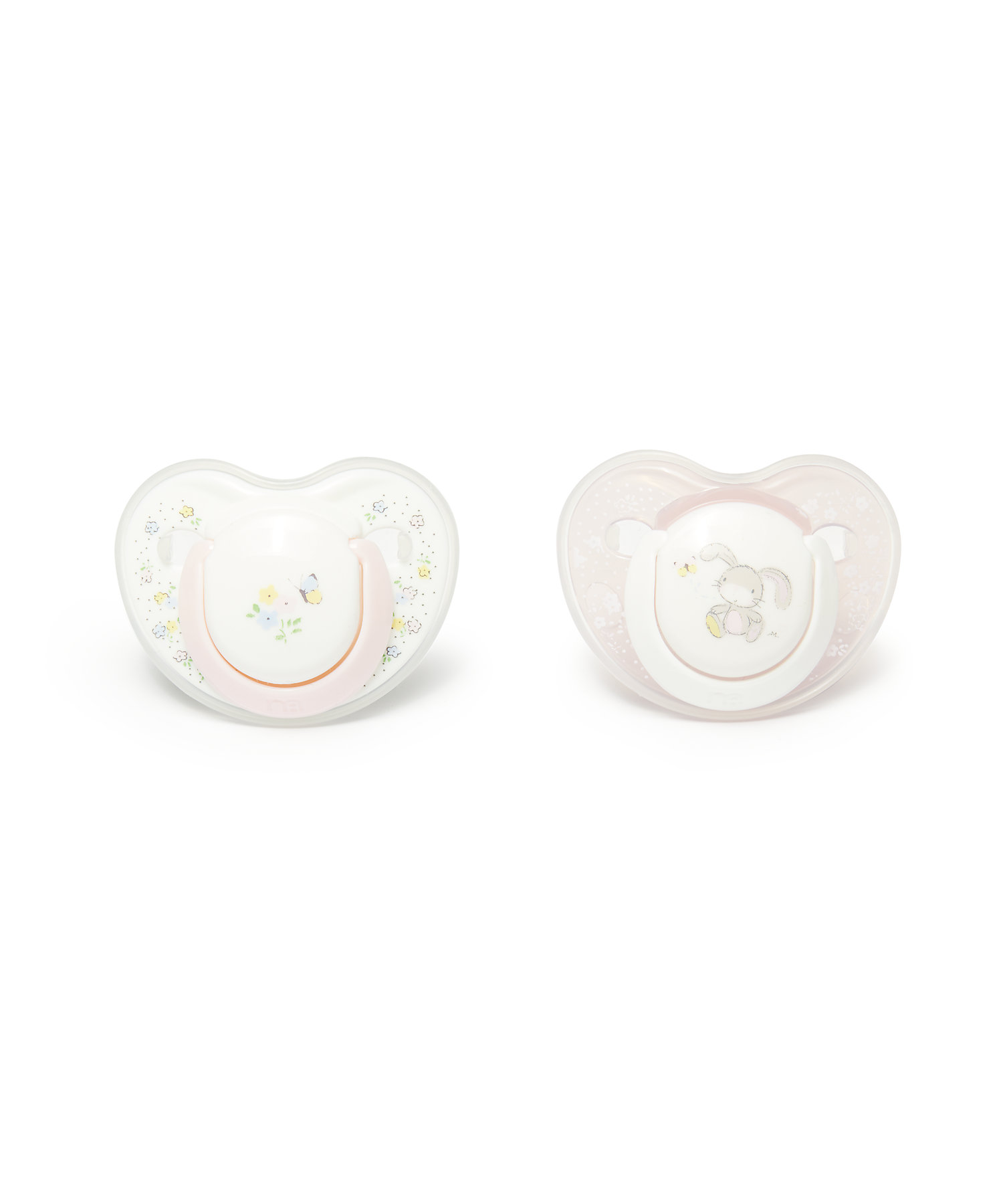 Mothercare   Mothercare Spring Flower Baby Soother 0-6Months - 2 Pack