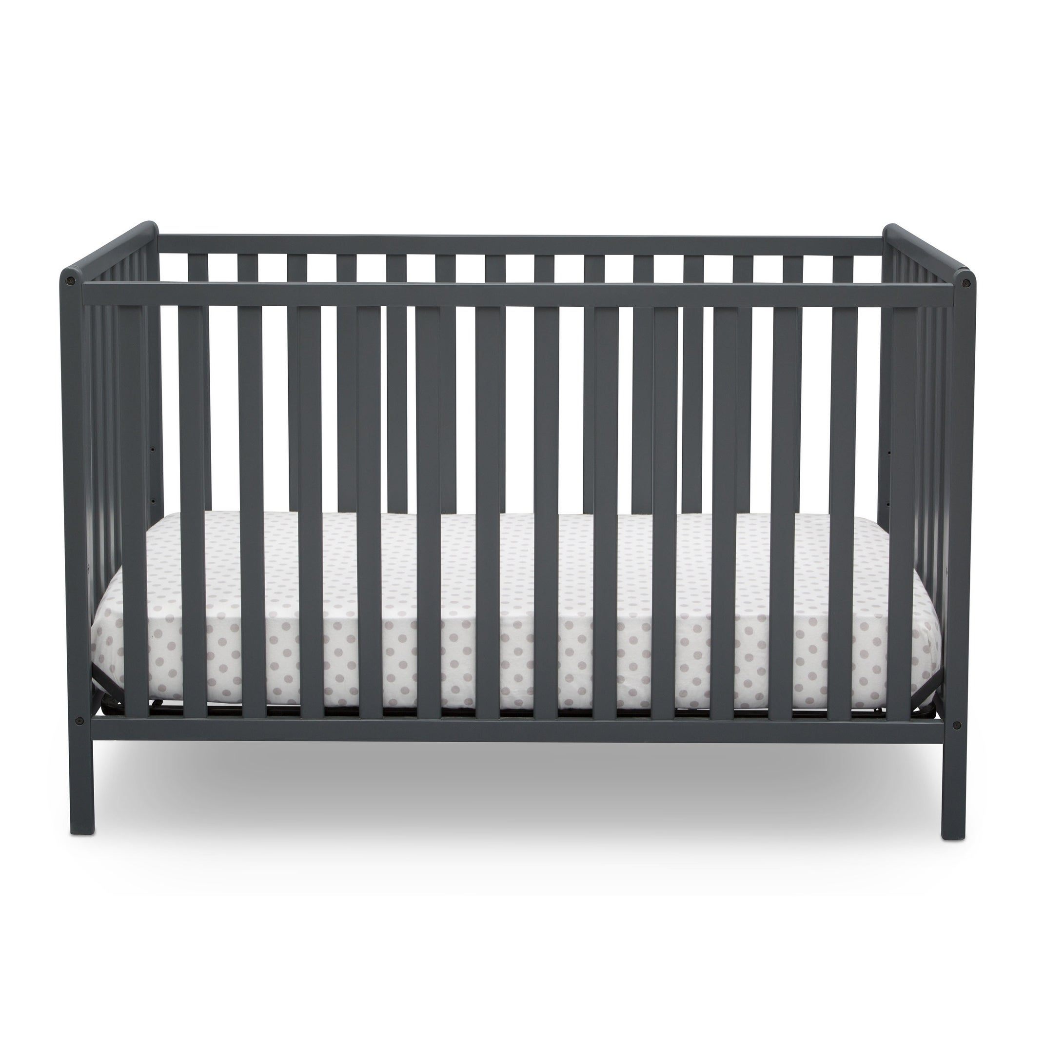 Mothercare   Delta Children Heartland 4In1 Convertible Crib Grey