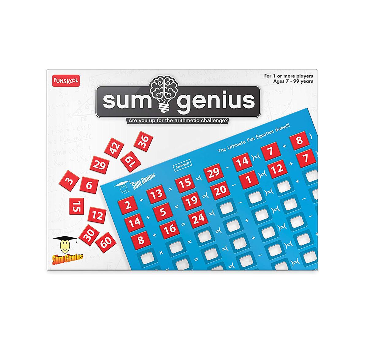 Funskool |  Funskool Sum Genius Games for Kids age 7Y+