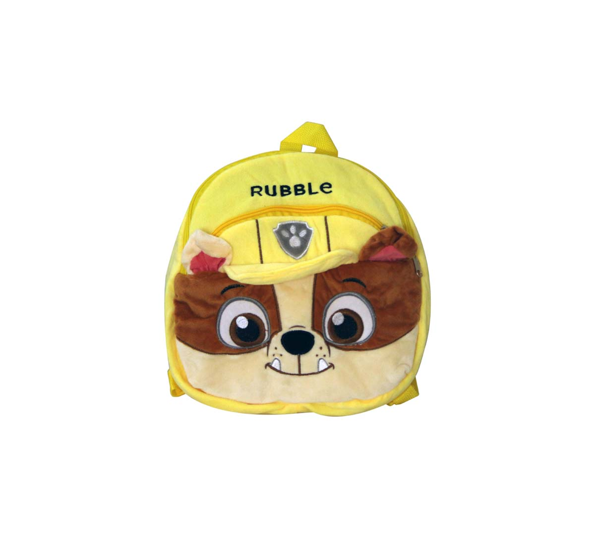 Paw Patrol | Paw Patrol Yellow Face BagRubble Plush Accessories for Kids age 3Y+ 25 Cm
