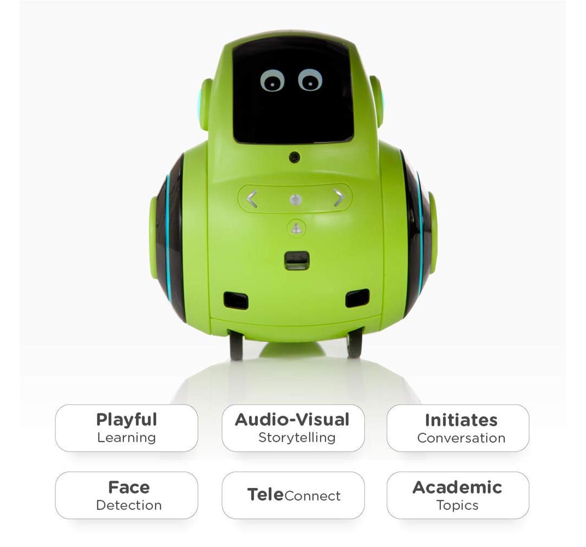 Miko |  Miko 2 My Companion Robot - Green Robotics for Kids age 5Y+ (Green)