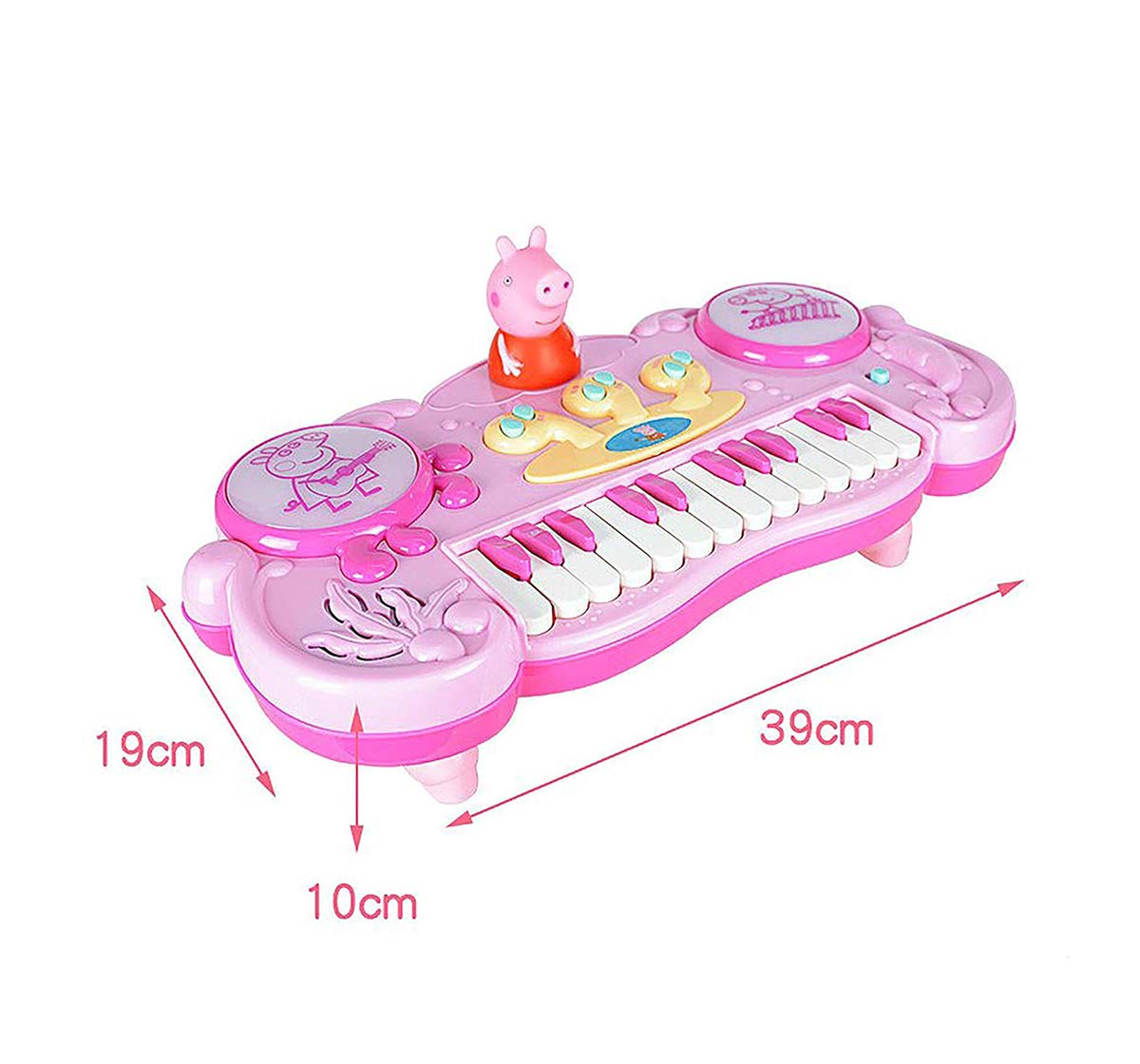 Peppa Pig | Peppa Pig Pink Piano Musical Toys for Kids age 24M+