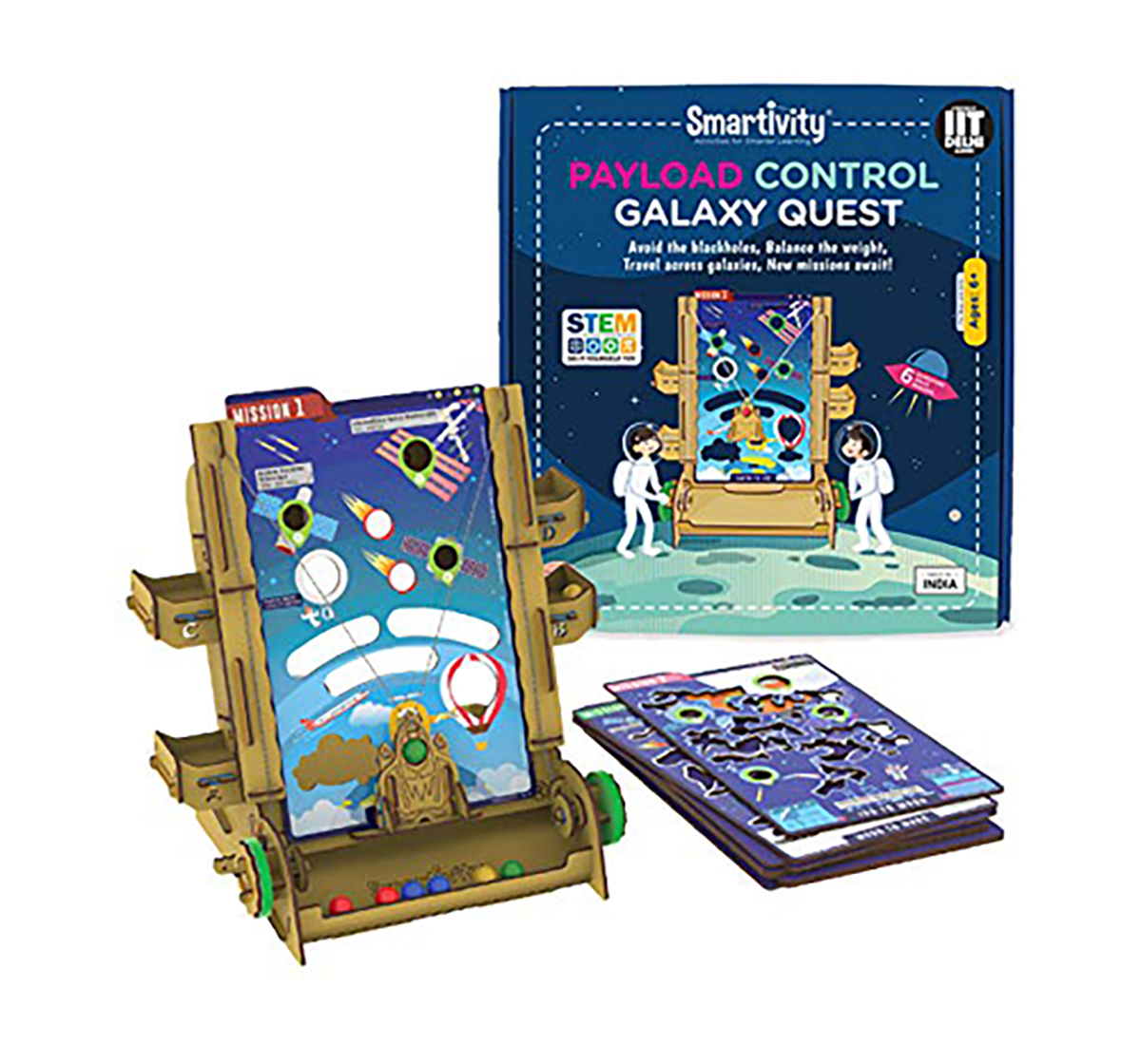 Smartivity | Smartivity Payload Control Galaxy Quest: Stem, Learning, Educational and Construction Activity Toy Gift  for Kids age 6Y+ (Multi-Color)