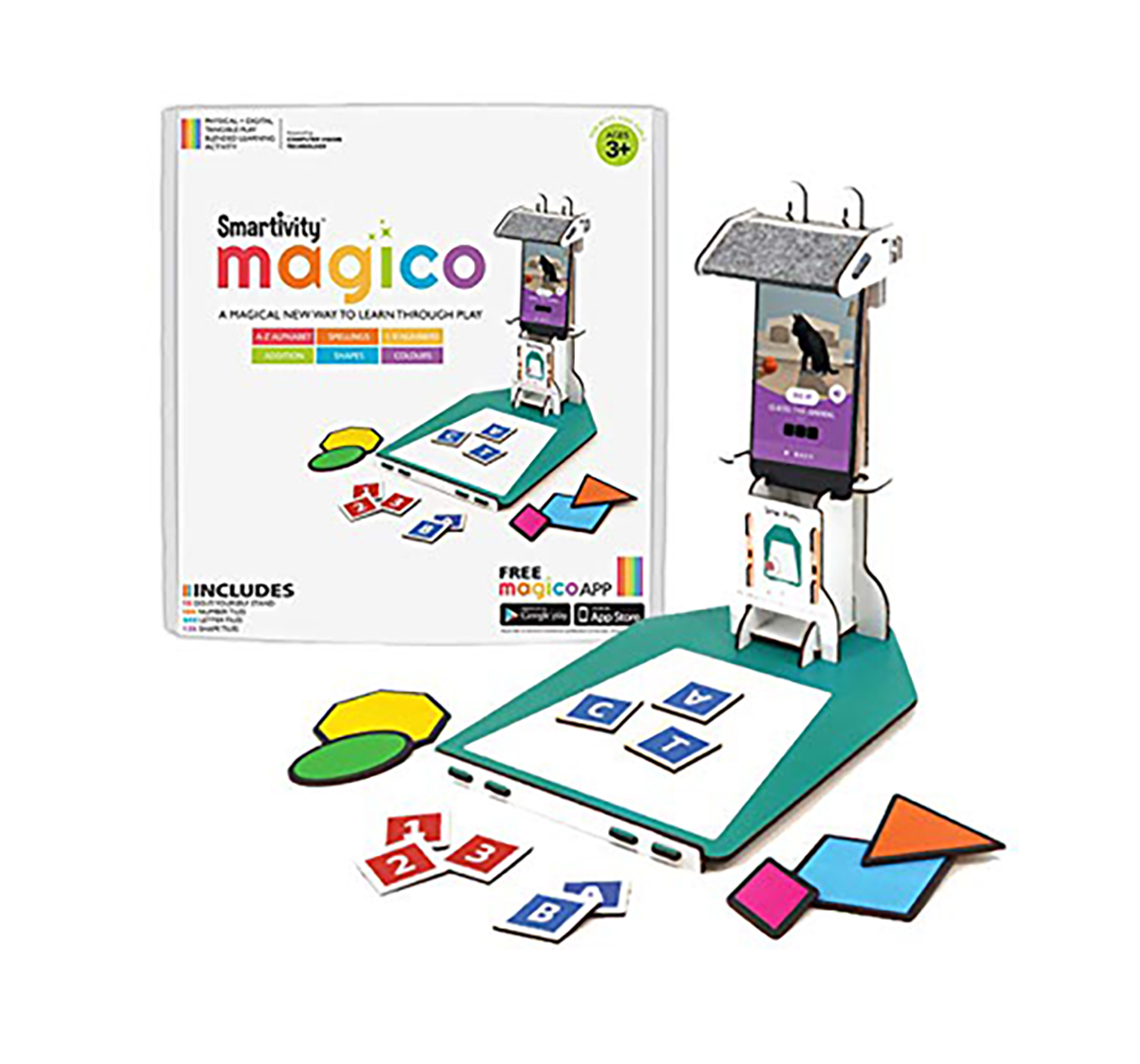 Smartivity | Smartivity Magico (English, Math, Shape, Colour) Learning Activity STEM for Kids age 6Y+