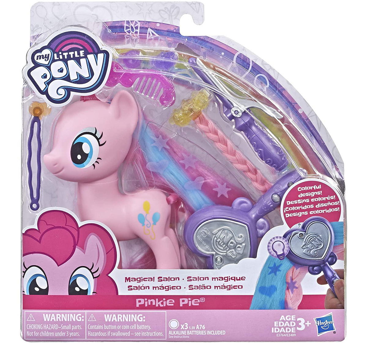 My Little Pony | My Little Pony Toy Magical Salon Hair-Styling Fashion Pony With Accessories Assorted Collectible for Girls age 3Y+