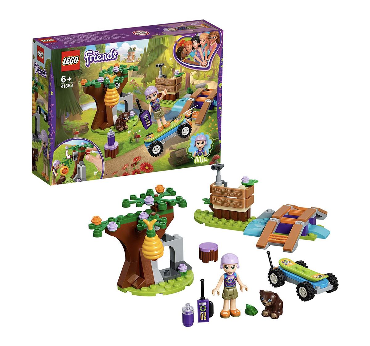 LEGO | Lego Friends Mia's Forest Adventure Building Blocks (134 Pcs) 41363 for Girls age 6Y+