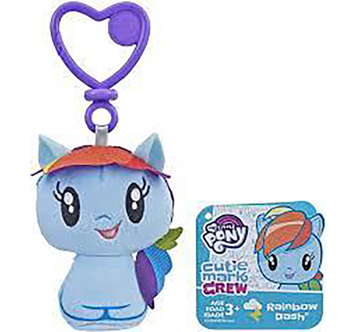 My Little Pony | My Little Pony : Cutie Mark Crew Plush Clip Assorted Collectible Dolls for Girls age 3Y+
