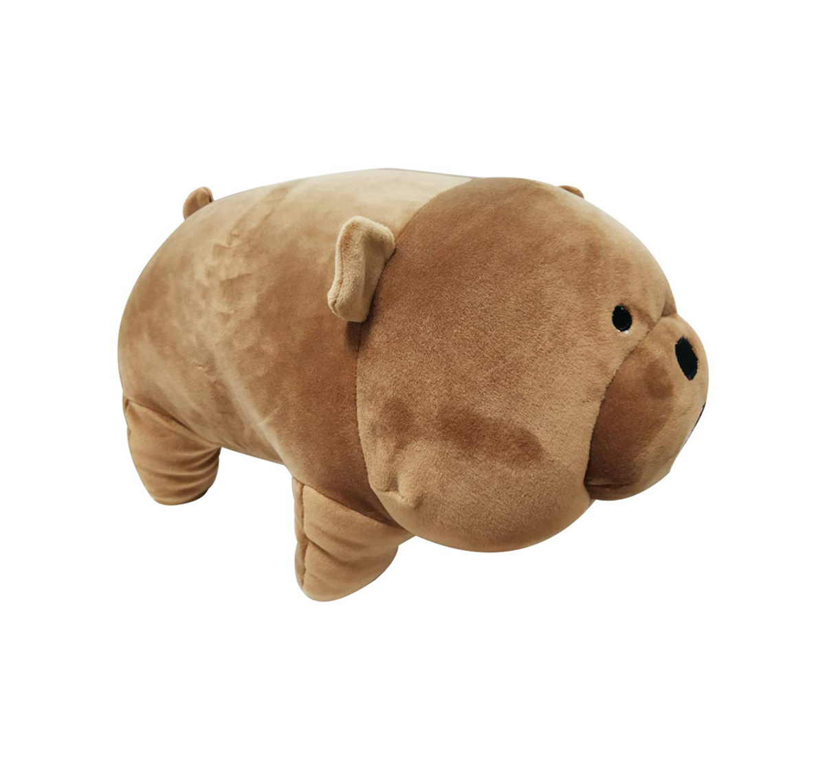 We Bare Bears |  We Bare Bear Grizzly Bear Soft Toy for Kids age 1Y+ - 40 Cm (Brown)