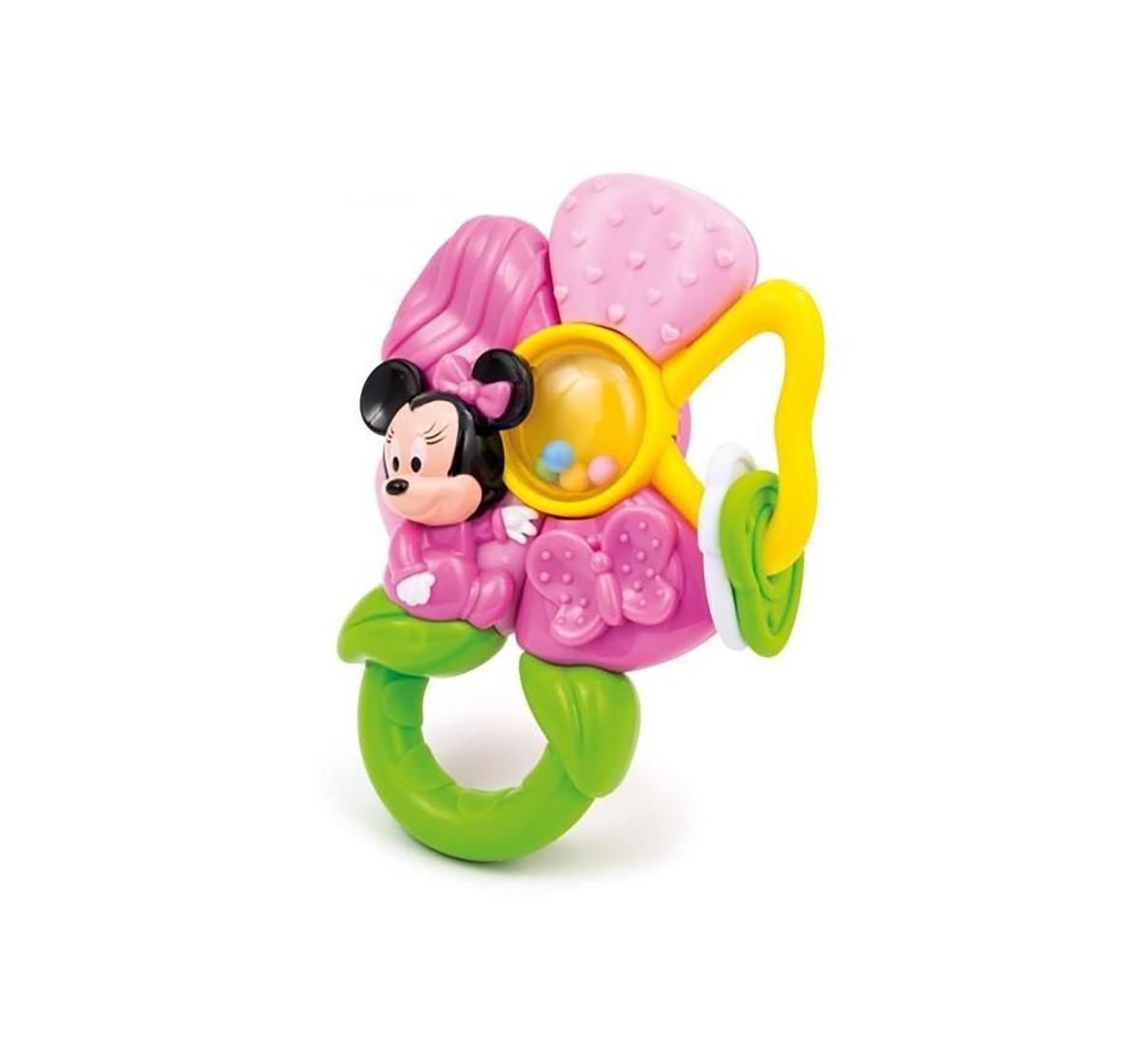 Disney | Disney Minnie Flower Rattle for Girls age 3M+ (Pink)