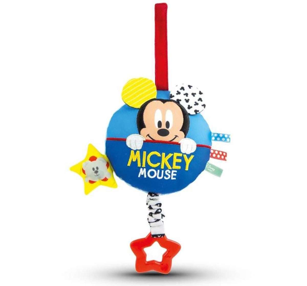 Disney   Disney Mickey Soft Carillon Rattle for New Born  Boys age 0M+ (Blue)