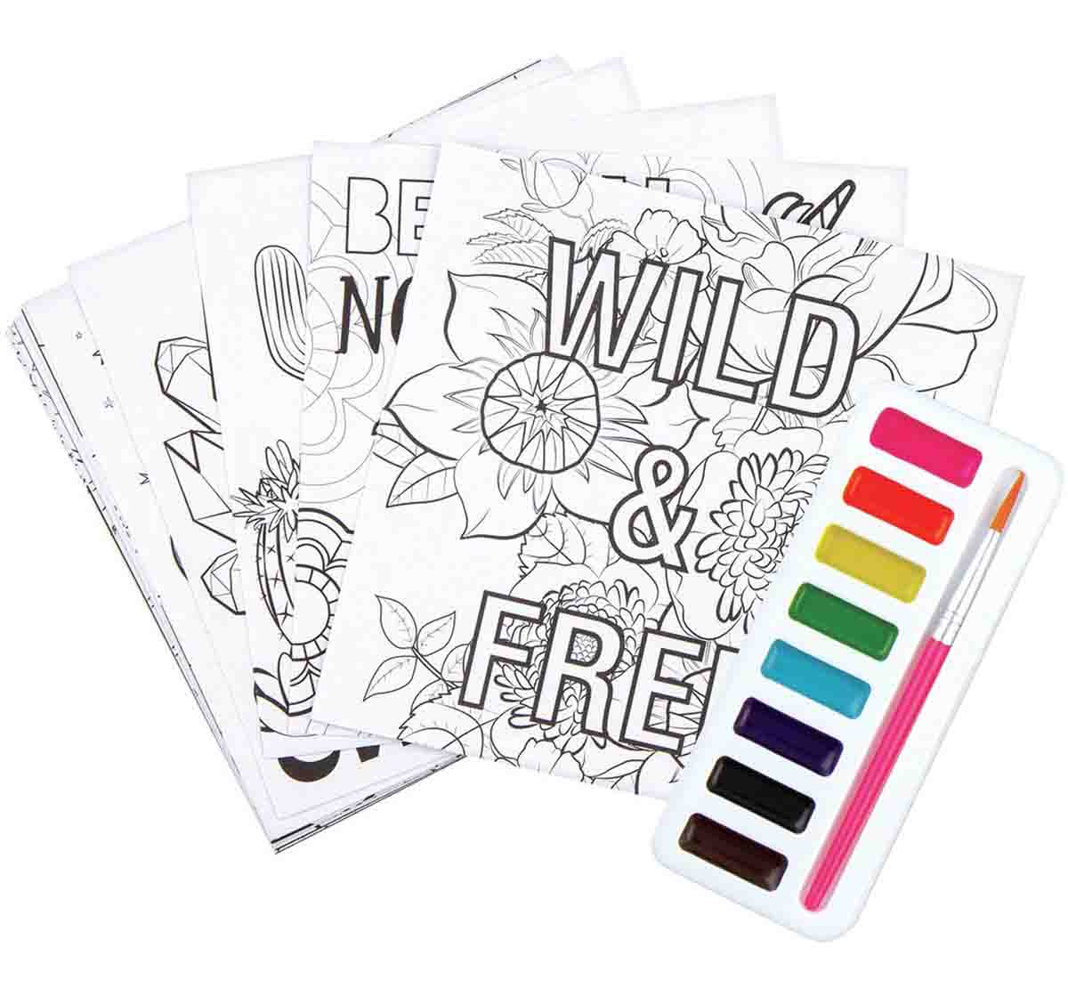 Fashion Angels | Fashion Angels Chill Out & Craft Watercolor Kit
