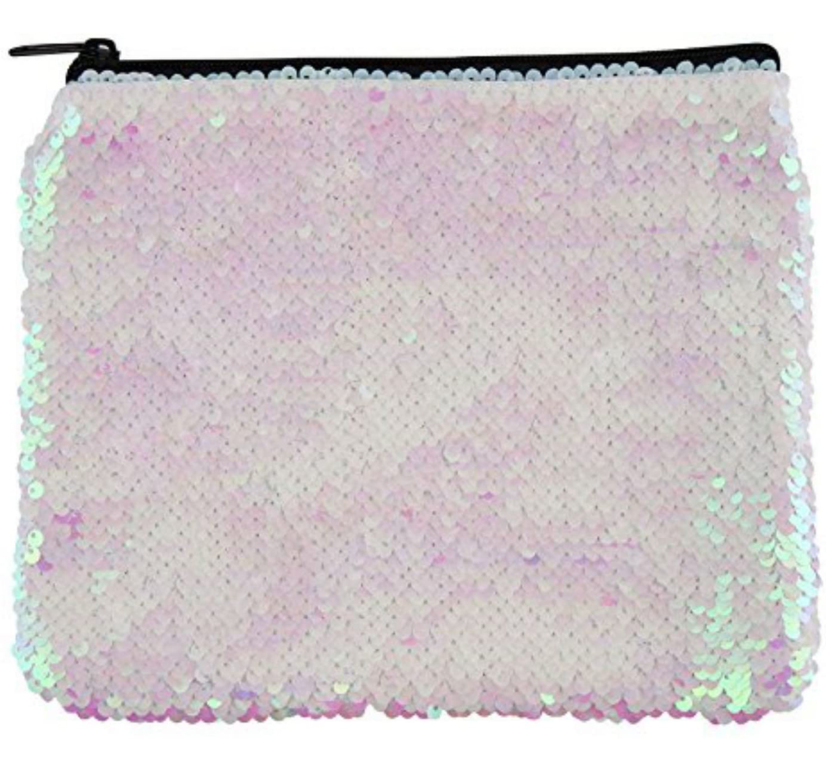 Fashion Angels   Fashion Angels S.Lab Sequin Pouch Pink Iridescent Pencil Pouches & Boxes for Girls age 6Y+