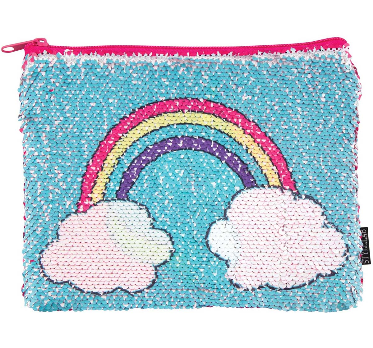 Fashion Angels | Fashion Angels Sequin Unicorn/Rainbow Pencil Pouch & Boxes for Girls age 6Y+