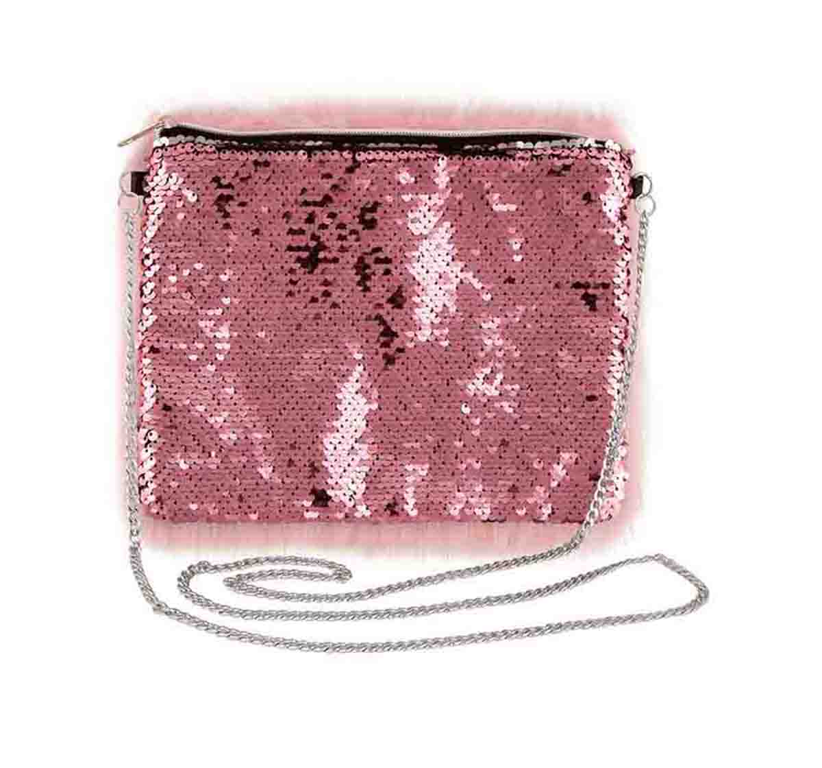 Fashion Angels | NE FA Faux Fur & Magic Sequin Pink Bag