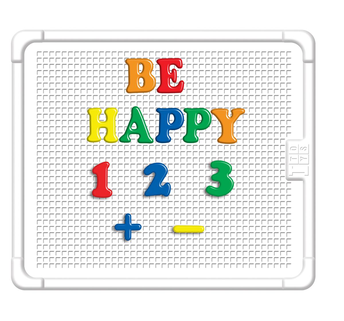 Itoys | I Toys Edu Wonder Big Alphabet & Number Board for kids, 3Y+