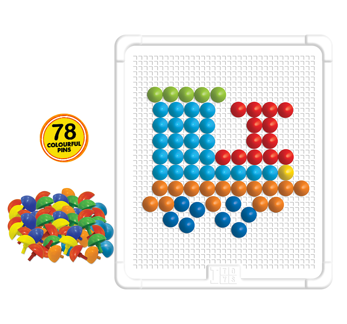 Itoys | I Toys Edu Wonder pattern Board for kids, 3Y+