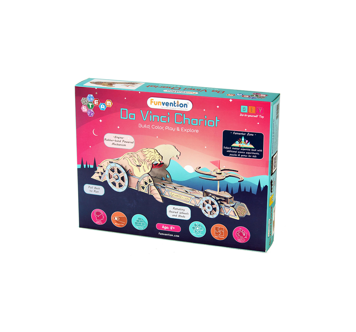 Funvention | Funvention Da Vinci Chariot Stem for Kids Age 8Y+
