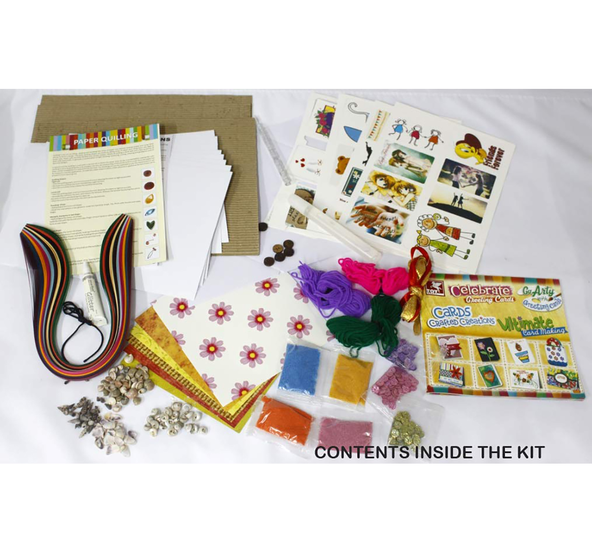 Toy Kraft | Toy Kraft Fab Card Displays DIY Art & Craft Kits for Kids age 7Y+