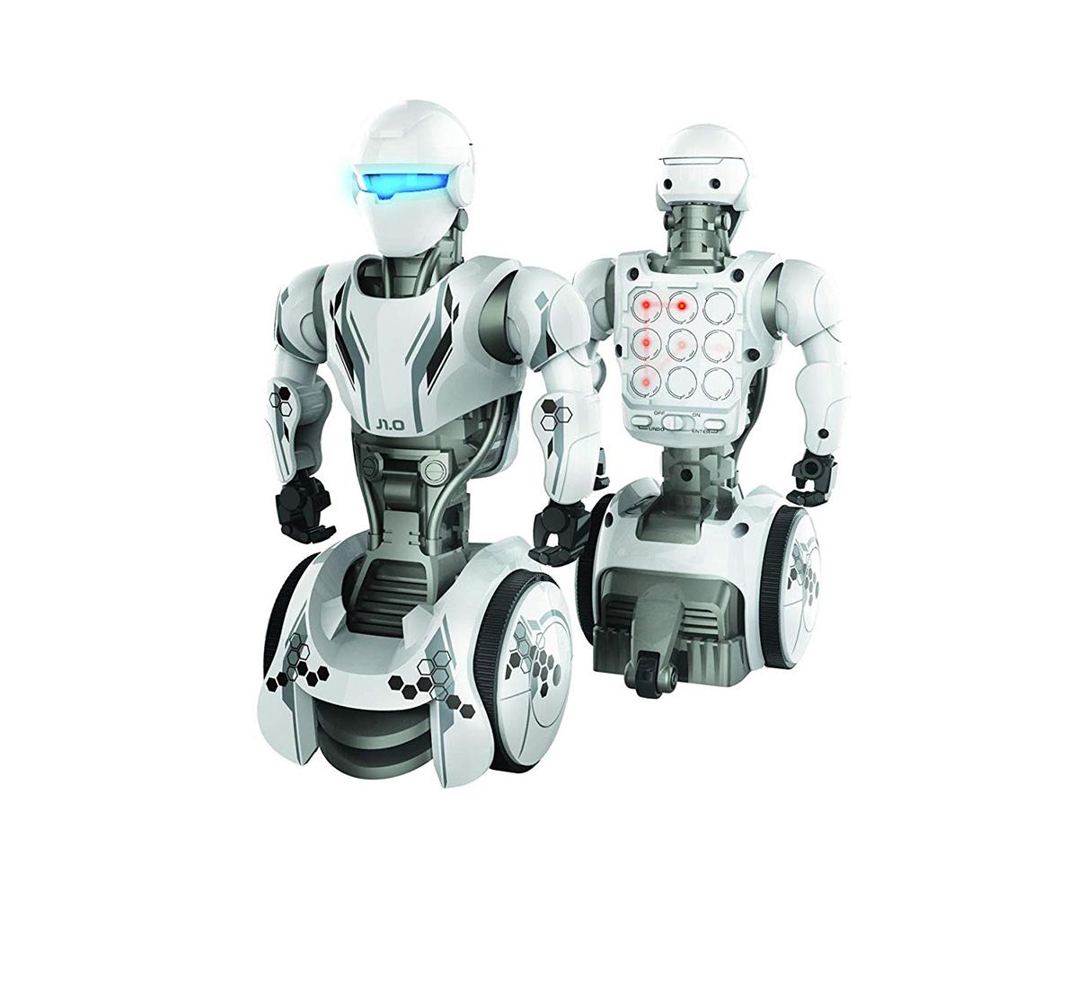 Silverlit | Silverlit Ycoo Junior 1.0 Robot-White Robotics for Kids age 5Y+ (White)