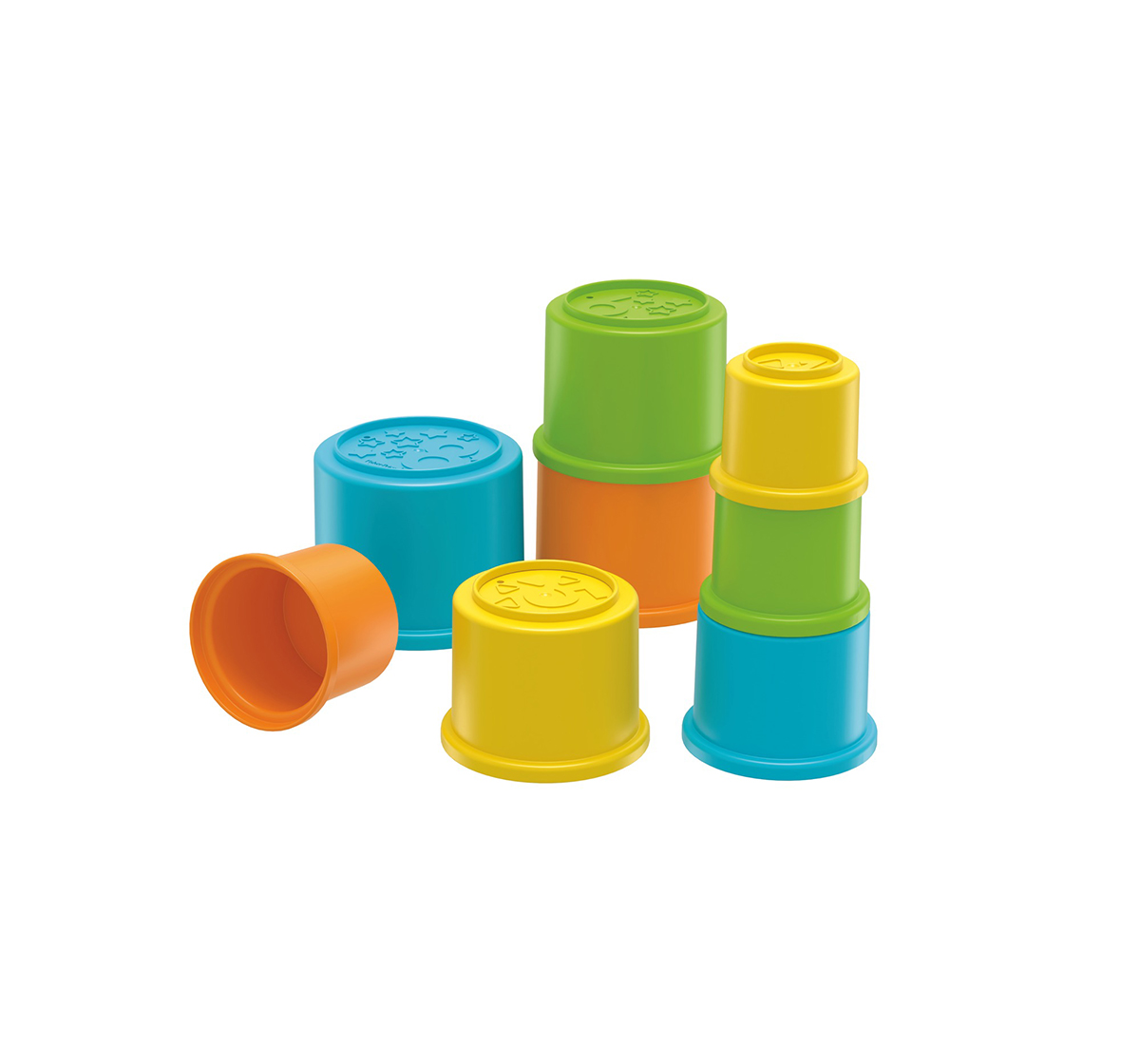 Fisher-Price | Fisher Price Stacking Cups Activity Toys for Kids age 6M+