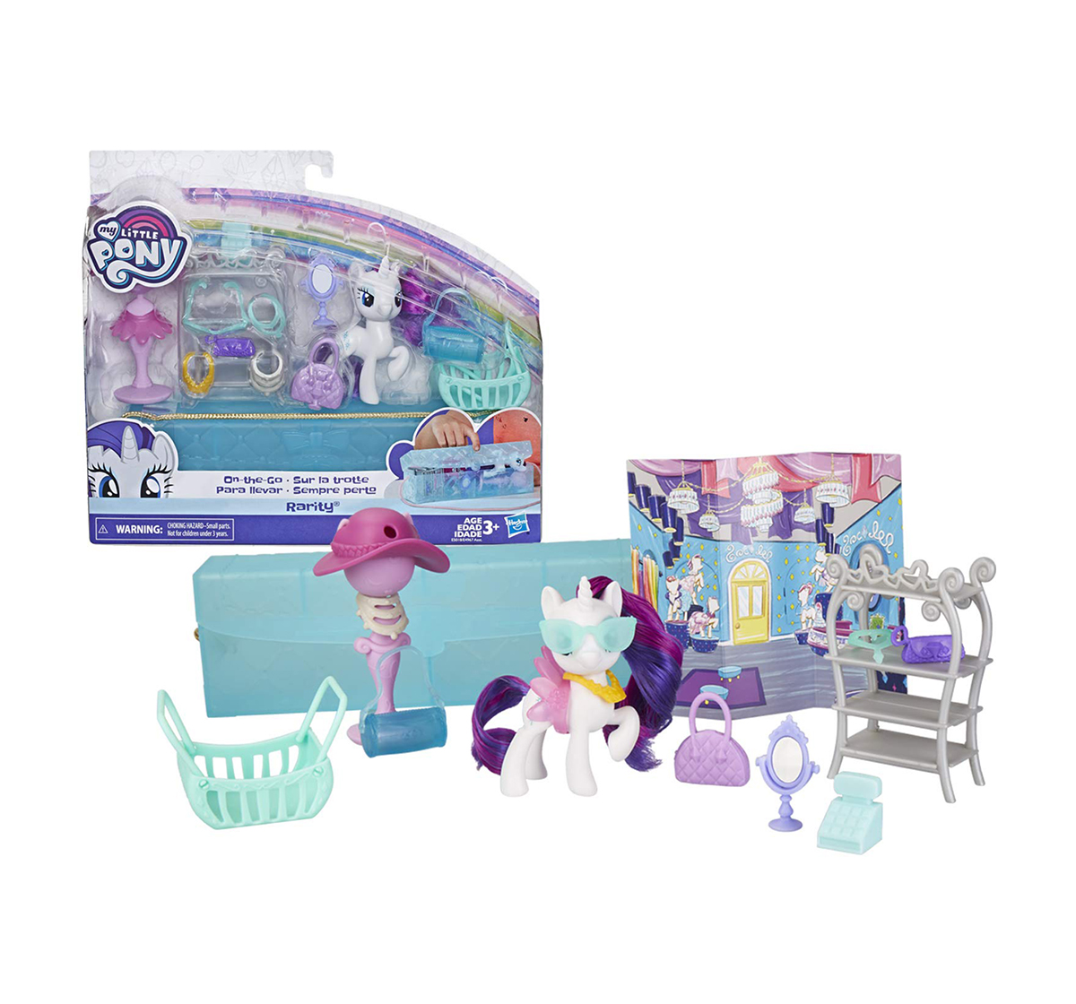 My Little Pony | My Little Pony - On The Go Assorted Collectible Dolls for Girls age 3Y+