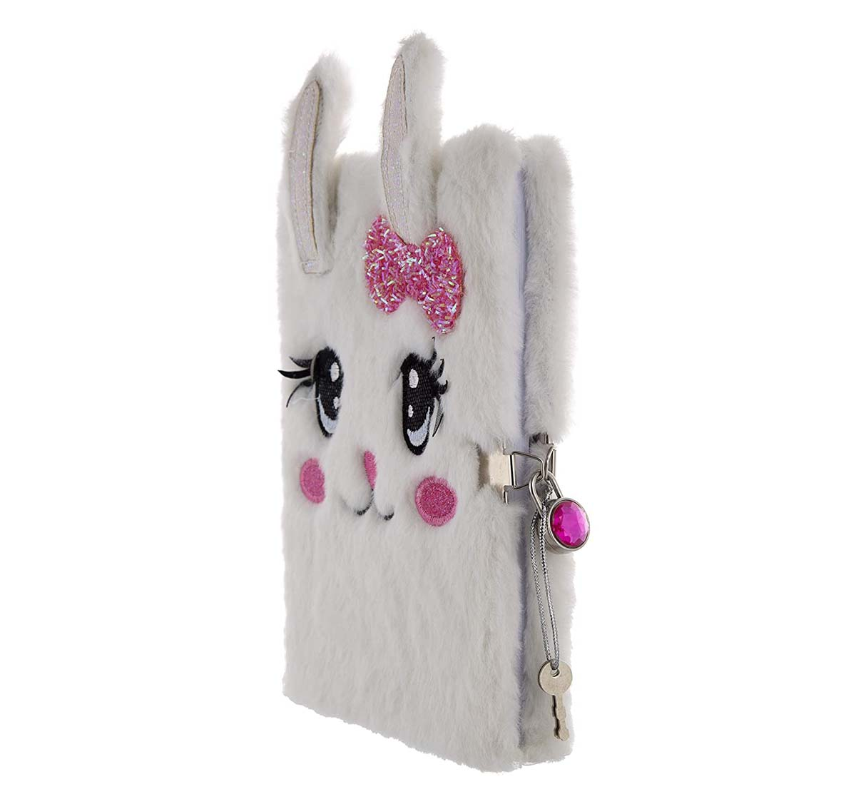 Mirada | Mirada Miss Bunny Plush Study & Desk Accessories for Kids Age 3Y+ (White)