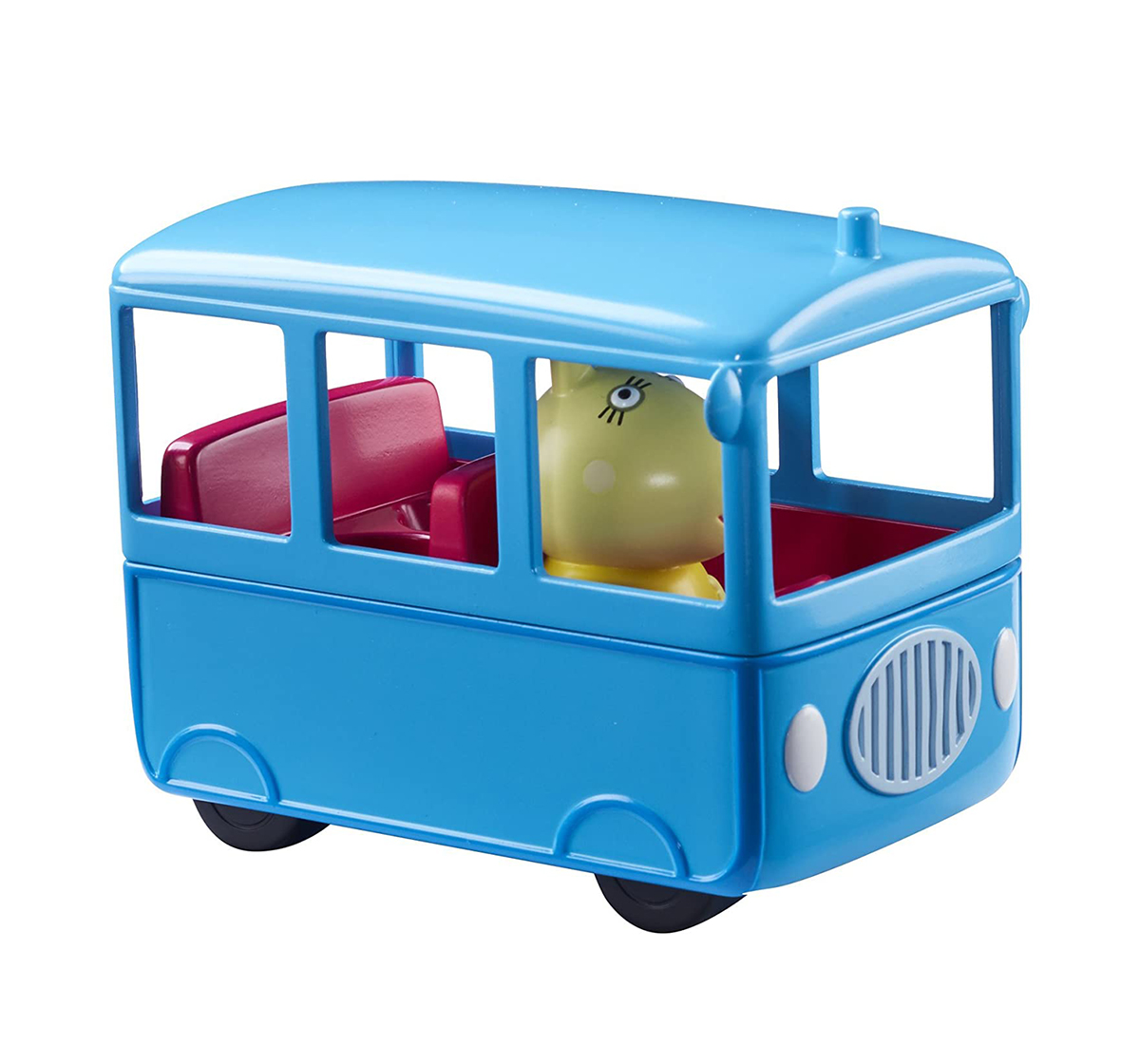 Peppa Pig | Peppa Pig  School Bus Activity Toys for Kids age 3Y+ (Blue)