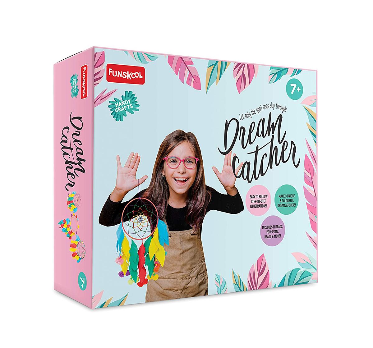 Funskool | Funskool - Handycrafts Dreamcatcher DIY Art & Craft Kits for Girls age 7Y+