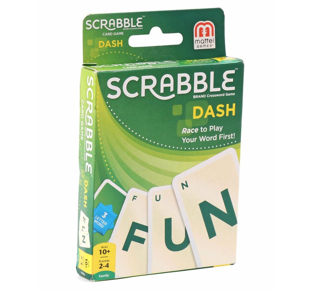 Mattel |  Mattel Scrabble Dash Card Game, Games for Kids age 10Y+