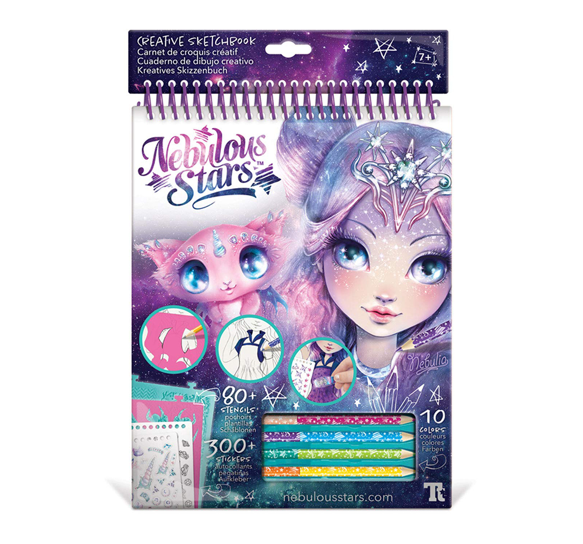 Nebulous Star   Nebulous Star - Creative Sketchbook - Nebulia DIY Art & Craft Kits for Girls age 7Y+