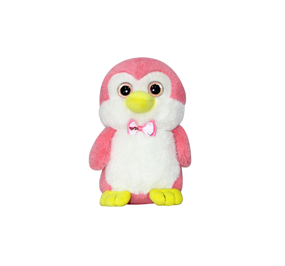 Soft Buddies | Softbuddies Pink Penguin Quirky Soft Toys for Kids age 3Y+ - 24 Cm (Pink)
