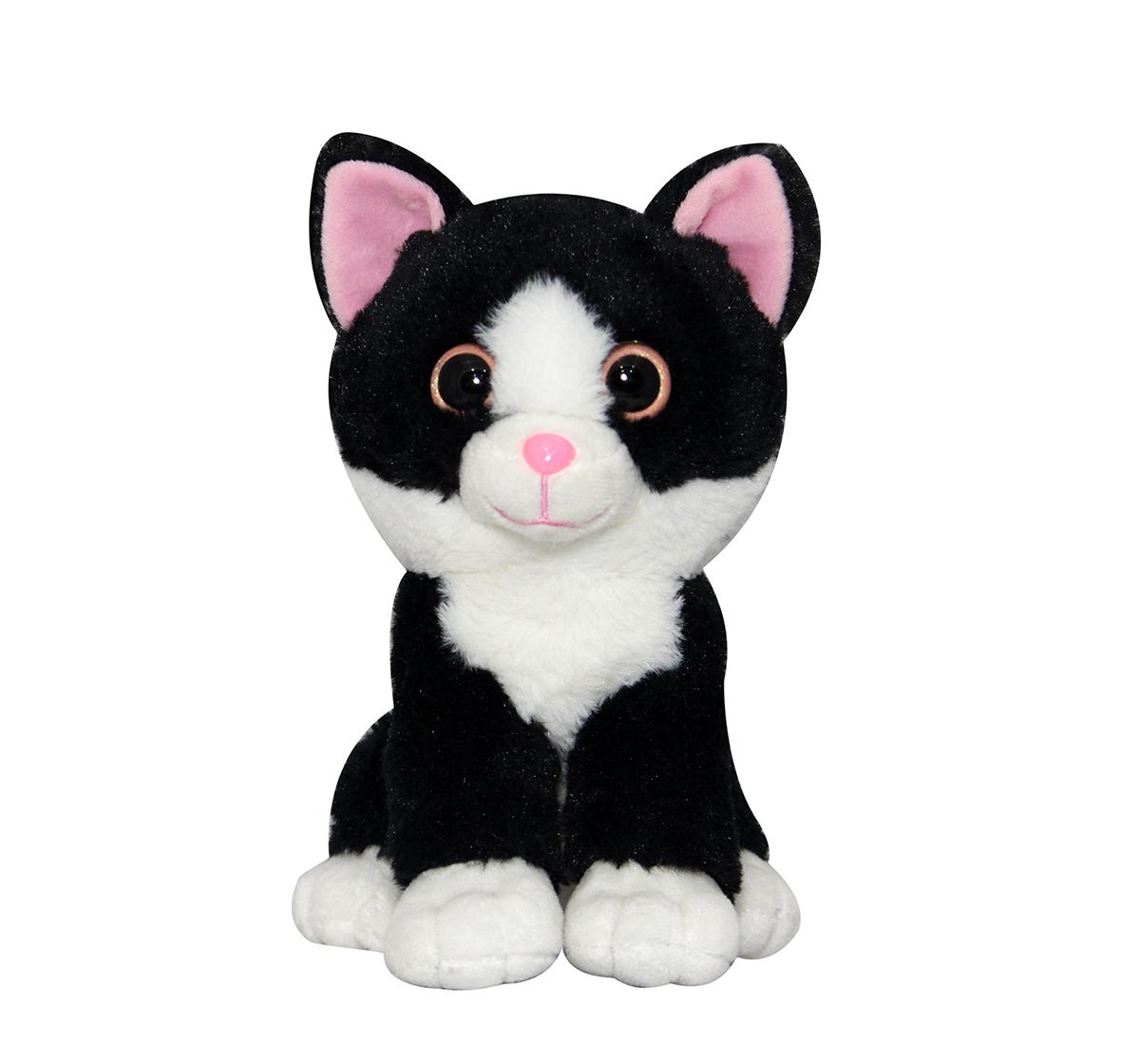 Soft Buddies | Softbuddies Big Eye Cat, Quirky Soft Toys for Kids age 3Y+ 30 Cm