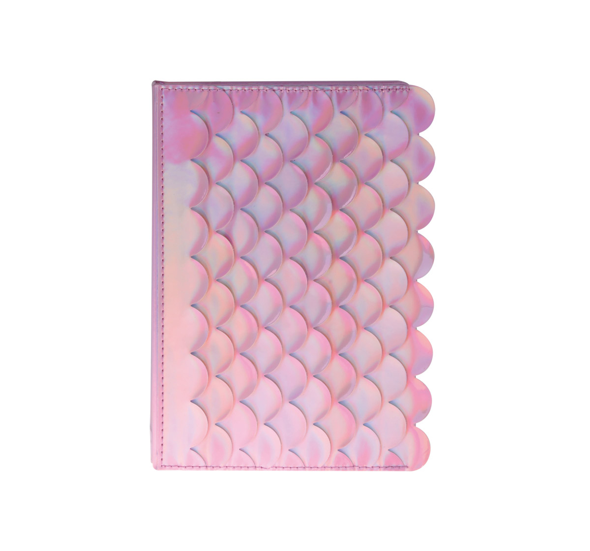 Syloon | Syloon Metallic - Mermaid Pink Holo Pu A5 Notebook Study & Desk Accessories for Kids age 5Y+ (Pink)
