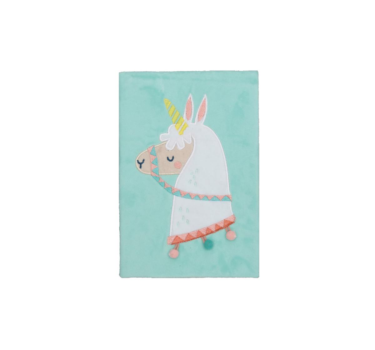 Syloon | Syloon Sloth Llama - Llama Fluffy A5 Notebook Study & Desk Accessories for Kids age 5Y+
