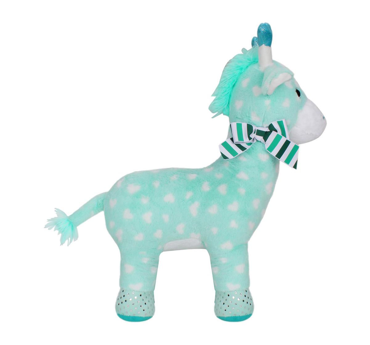Fuzzbuzz | Fuzzbuzz Giraffe Stuffed Animal - Blue - 48Cm Quirky Soft Toys for Kids age 0M+ - 18 Cm (Blue)