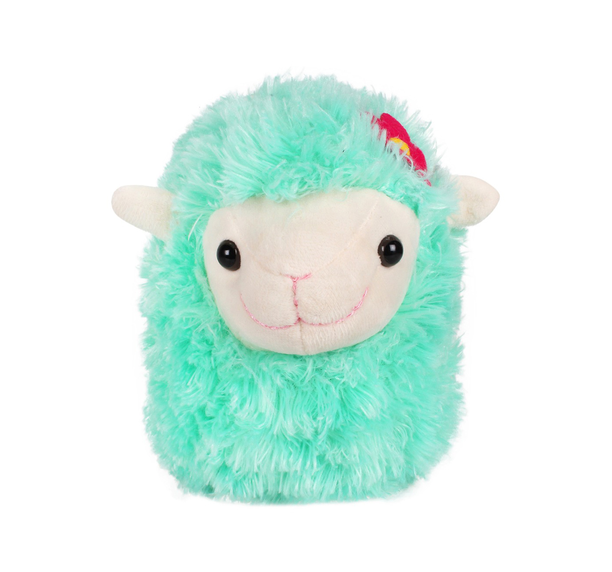 Fuzzbuzz | Fuzzbuzz Green Lamb Stuffed Animal - 28Cm Quirky Soft Toys for Kids age 0M+ - 20 Cm (Green)